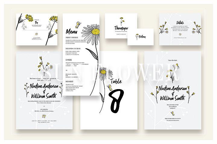 Sun Flower Wedding Suite Ac.11