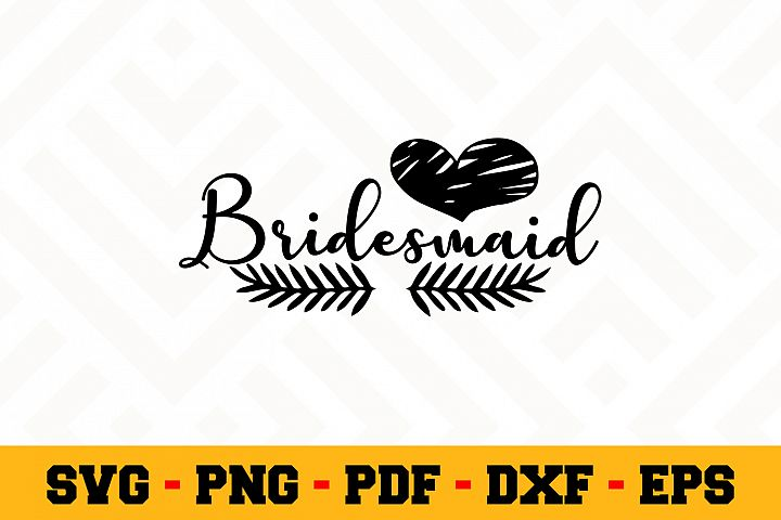 Bride SVG Design n635 | Wedding SVG Cut File