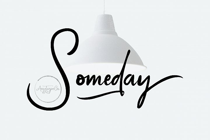 Someday | Handwritten Font