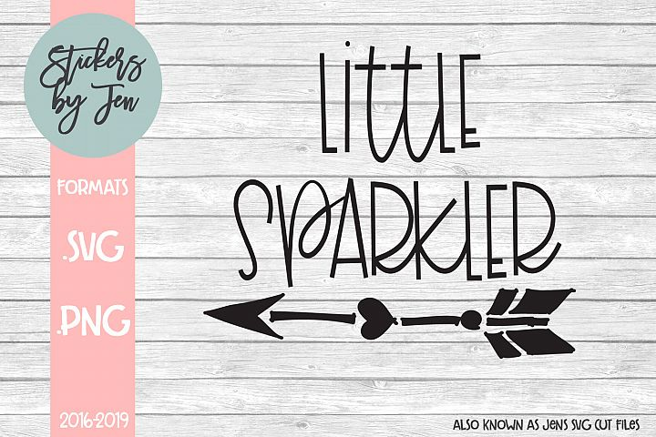 Little Sparkler SVG Cut File