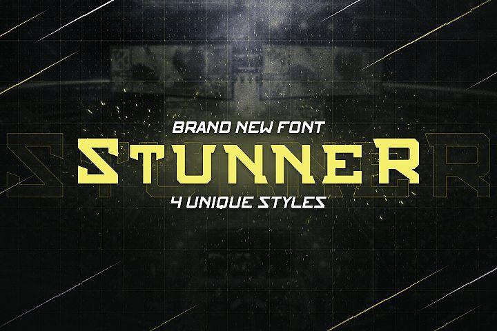STUNNER - NFC Font Family