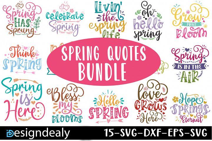 Spring SVG Bundle|Spring svg | Spring Sign svg|Spring Bundle