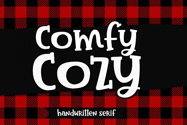 Comfy Cozy Serif Handwritten Font