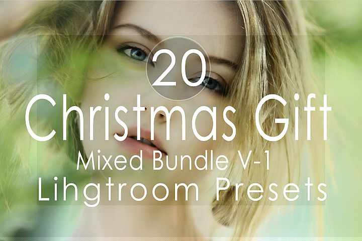 Christmas Gift Mixed v-1 Lightroom Presets