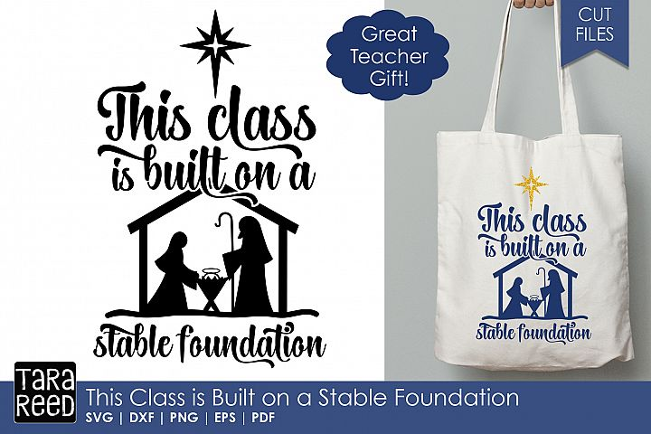 This Class is Built on a Stable Foundation - Teacher Gift