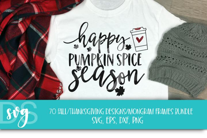 Fall, Pumpkin, Halloween, SVG, PNG, Thanksgiving Bundle, example 5