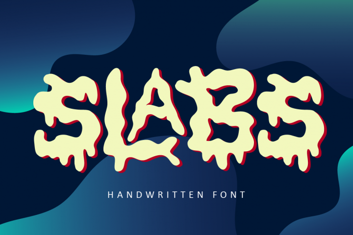 Slabs - Abstract Font