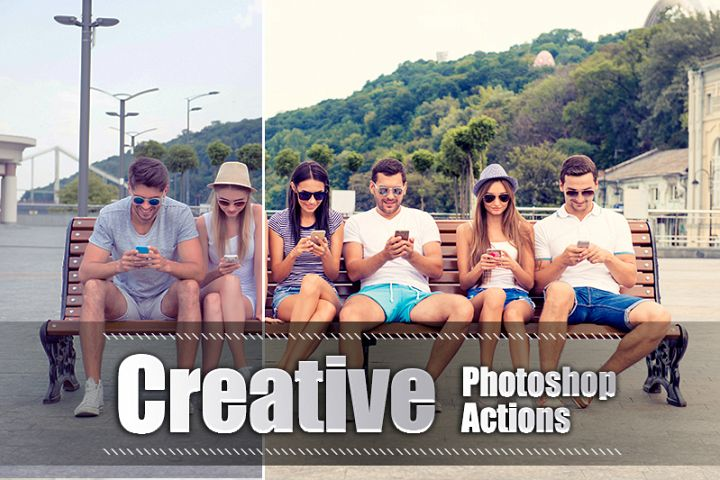55 Creative Photoshop Actions