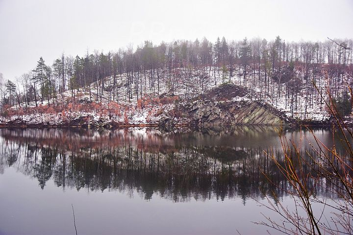 Nature photo, landscape photo, lake photo, winter photo