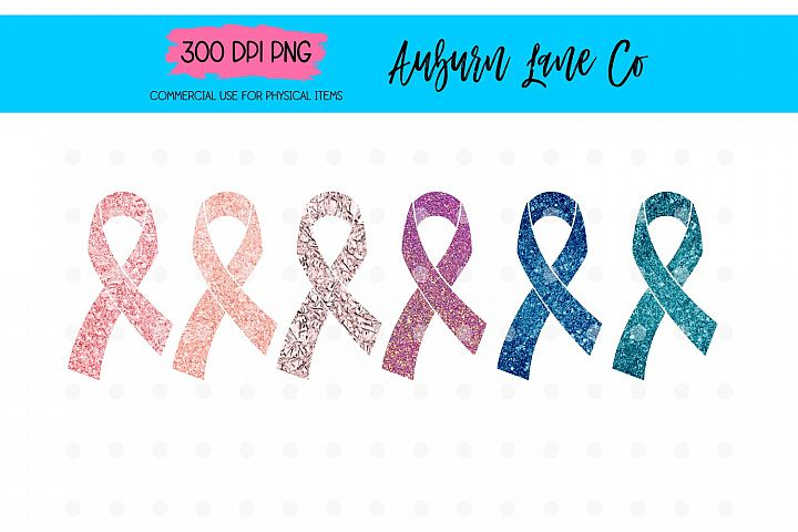 Awareness Ribbon Sublimation Design Bundle