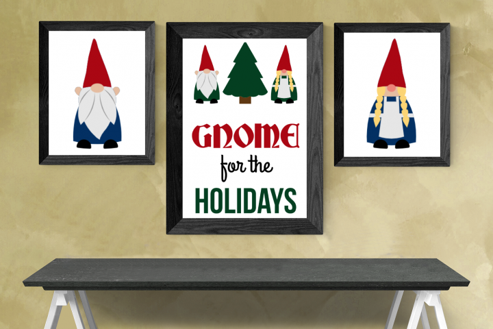 Gnomes SVG File