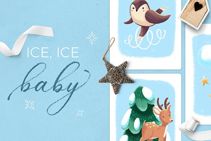 Ice Ice Baby winter scene creator