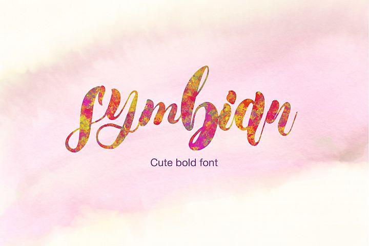 Symbian Cute Bold Font