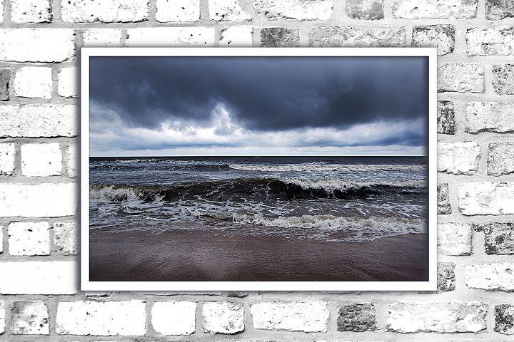 Nature photo, landscape photo,sea photo, storm