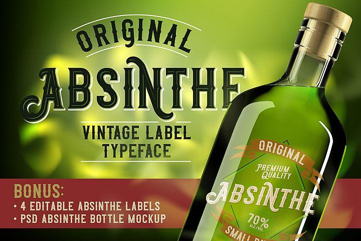 Original Absinthe Layered Font
