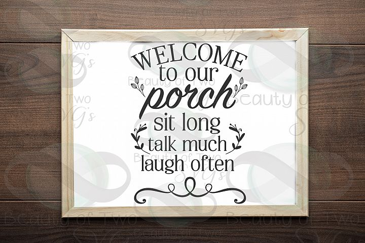 Welcome to our porch sign svg, Summer Farmhouse svg and png,