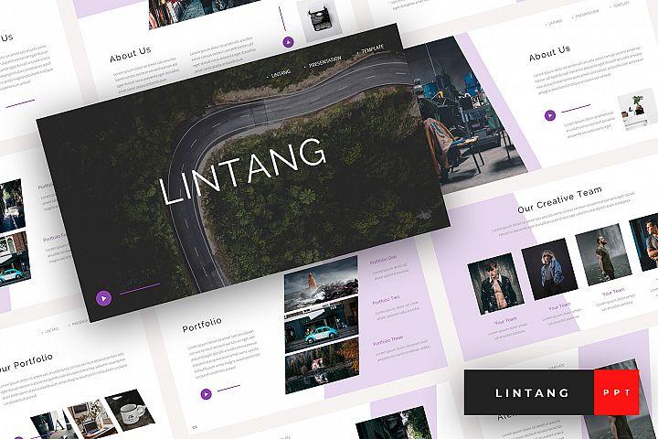 Lintang - Creative PowerPoint Template