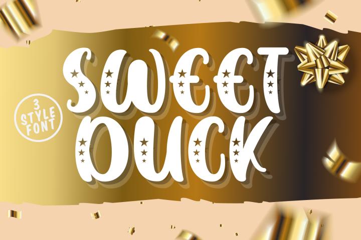 Sweet Duck - A Cute Sans Font