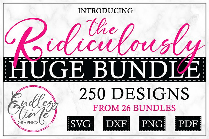 The Ridiculously Huge Bundle - A Massive SVG Collection