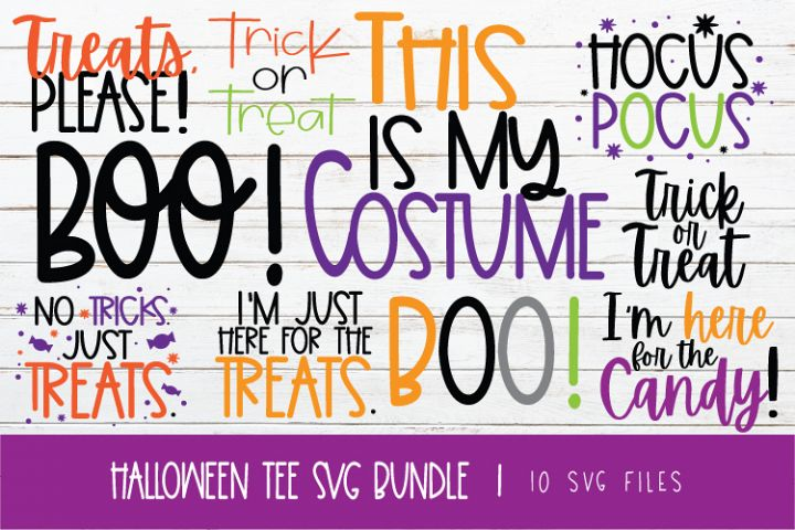 HALLOWEEN TEE SVG BUNDLE