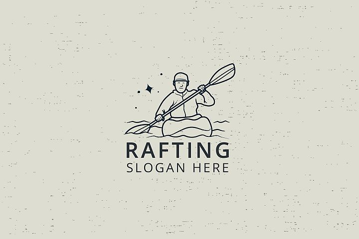 RAFTING - LOGO TEMPLATE