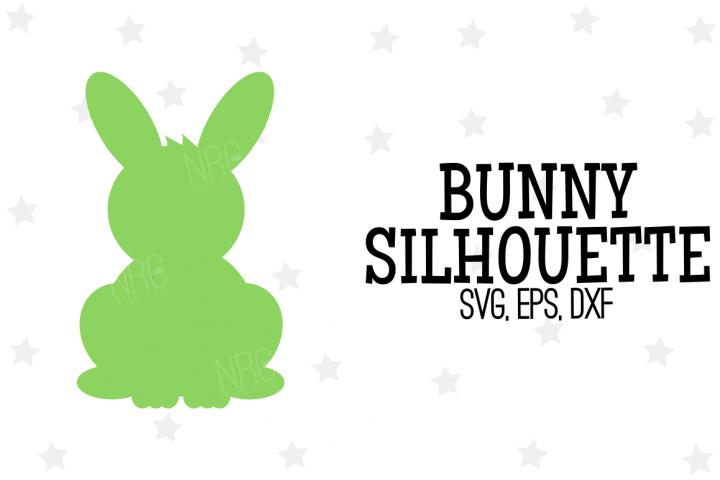 Bunny Silhouette SVG File