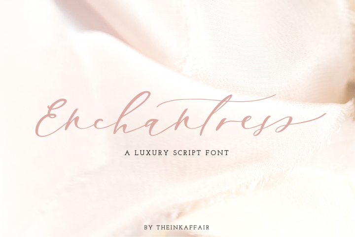 Enchantress | Luxury Font