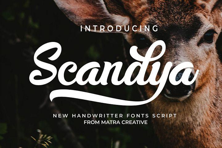 Scandya Script