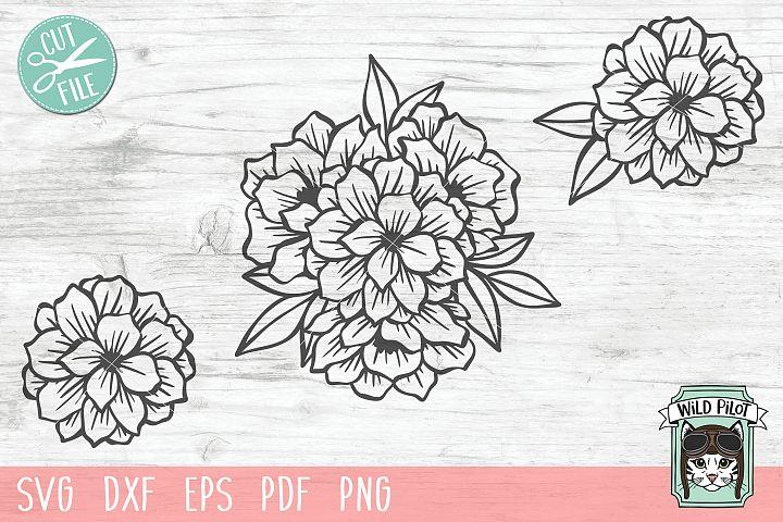 Flowers SVG, Floral SVG, Flower svg cut file, bouquet svg