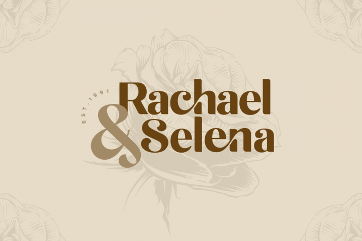 michael beautiful ligature font example image 7