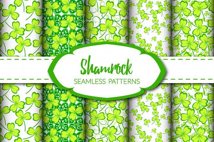 Shamrock - Seamless Patterns