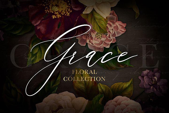 Grace Floral Graphics Collection