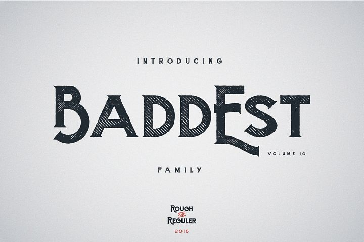 Baddest Family - Vol.1