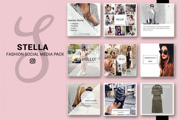 Instagram Fashion Social Media Pack