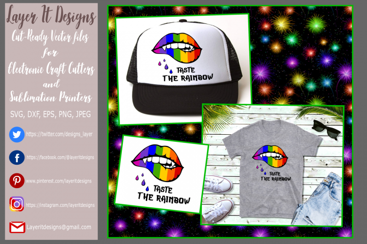 Taste The Rainbow/ Pride Design File