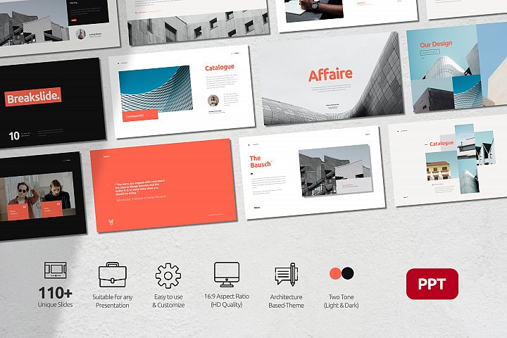 Affaire Business Presentation Powerpoint