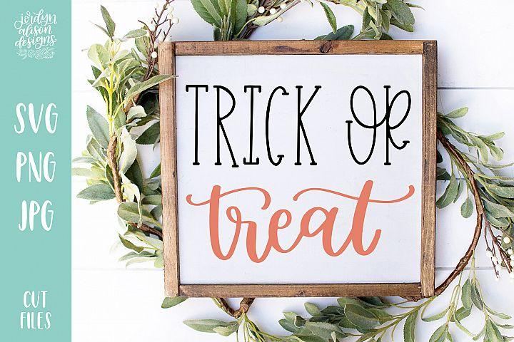 Trick or Treat, Halloween SVG Cut file