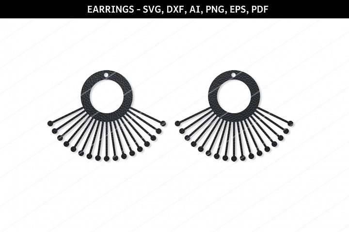 Modern earrings svg,Jewelry svg,leather jewelry,Cricut files
