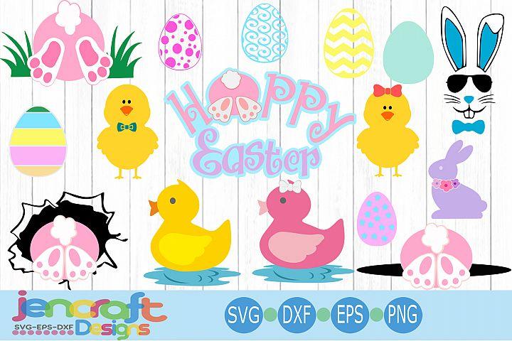 Easter Basket Design Bundle SVG