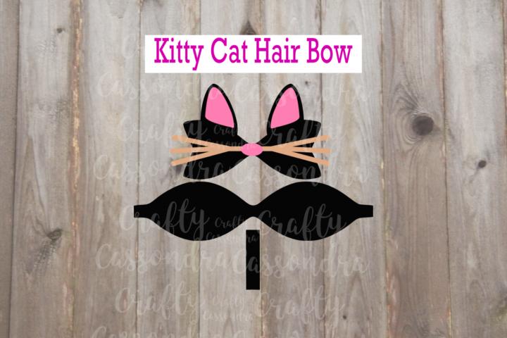 Kitty Cat hair bow