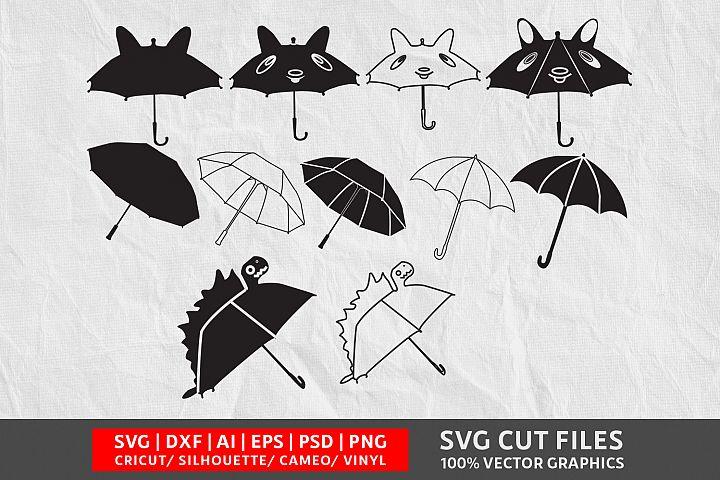 Umbrella SVG Cut File