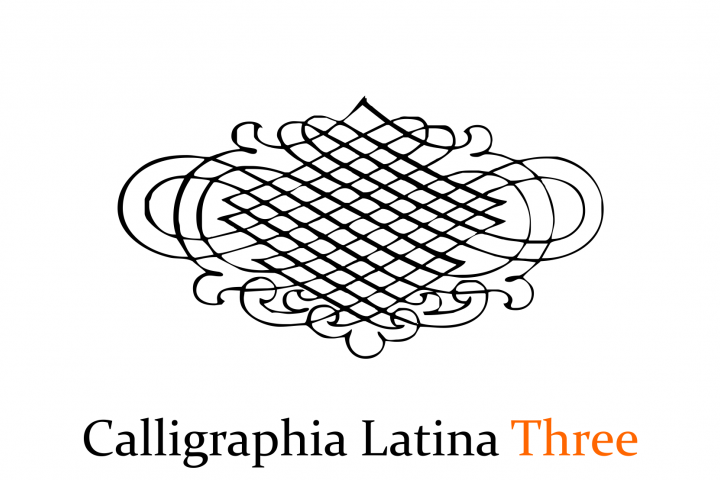 Calligraphia Latina Three