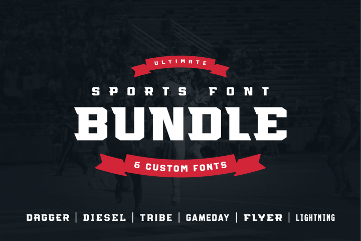 Ultimate Sports Font Bundle