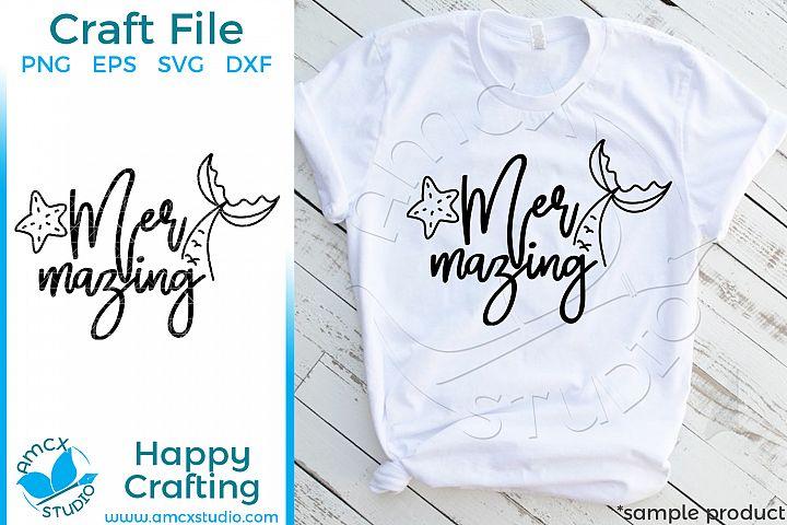 Mer-mazing! Craft SVG