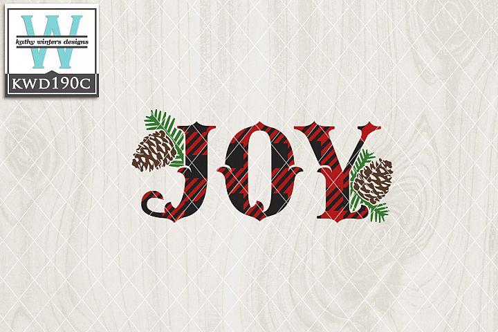 Christmas SVG - Joy