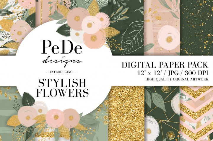 Stylish Floral Backgrounds