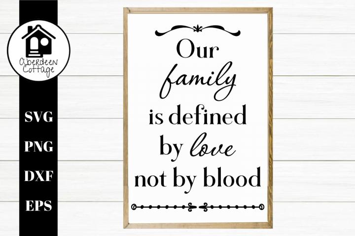 Our Family - A Blended Family Design