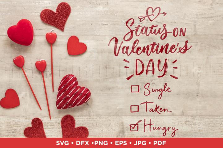 Funny Valentine sarcastic quote | SVG Valentine cut file