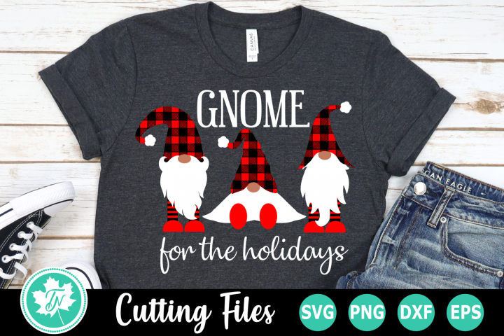 Gnome for the Holidays - A Christmas SVG Cut File