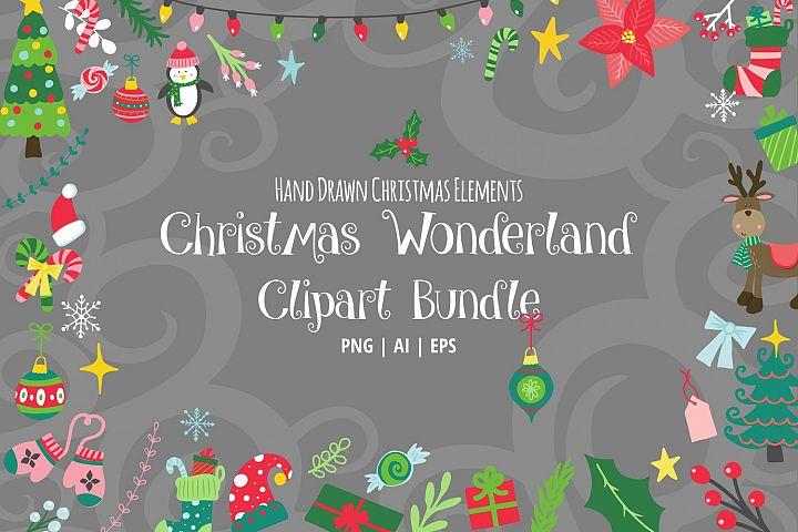 Christmas Wonderland Clipart